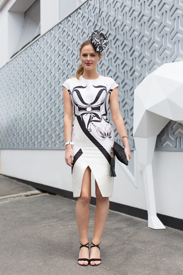 Who: Charlotte Bridgeman<br> Event: Derby Day <br> Location: Melbourne <br>