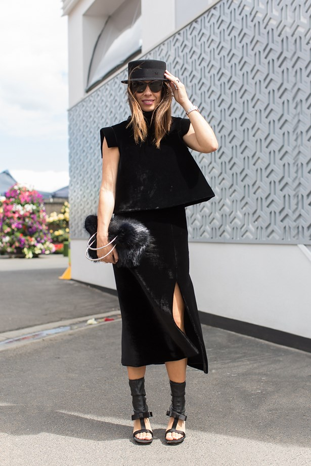 Who: Emma Van Handel<br> Event: Derby Day <br> Location: Melbourne <br>