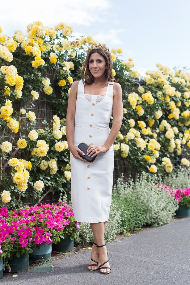Who: Lana Wilkinson<br> Event: Derby Day <br> Location: Melbourne <br>