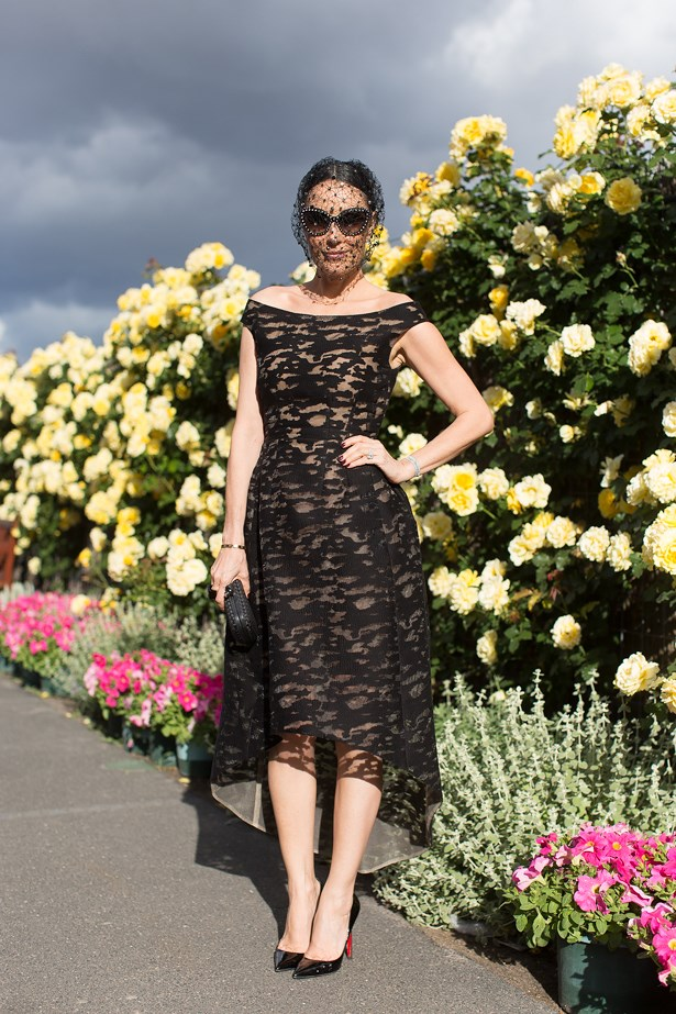 Who: Terri Biviano<br> Event: Derby Day<br> Location: Melbourne<br>
