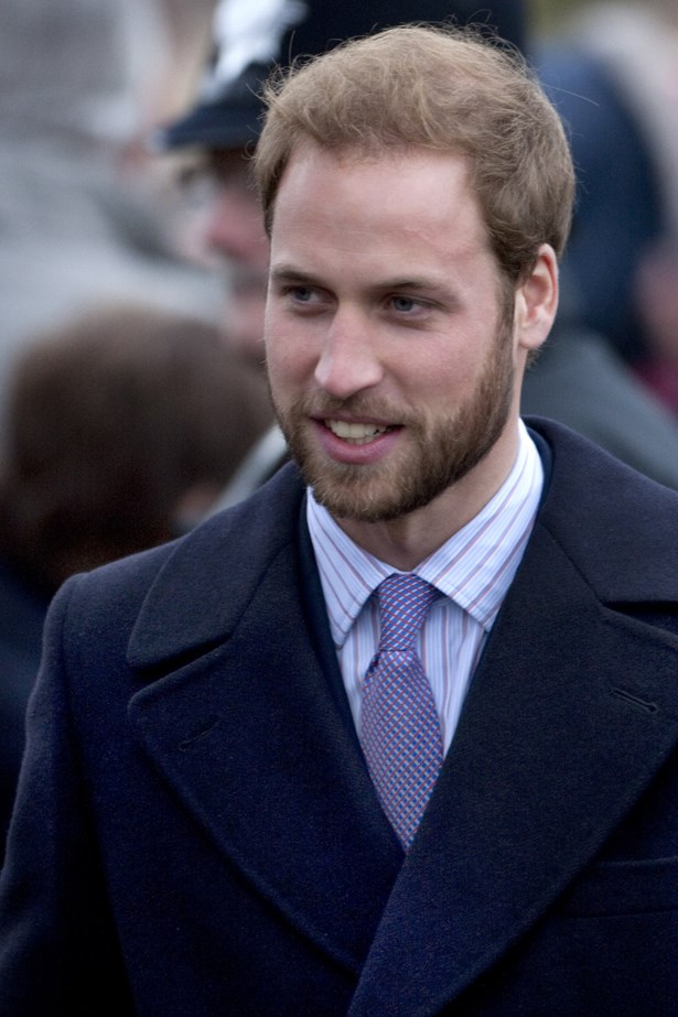 Prince William usually opts for the clean-shaven look, but we think HRH should bring his chin whiskers back.