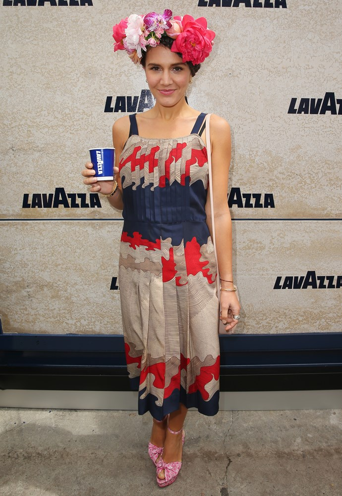 Margherita Missoni at Derby Day 2014, in Melbourne