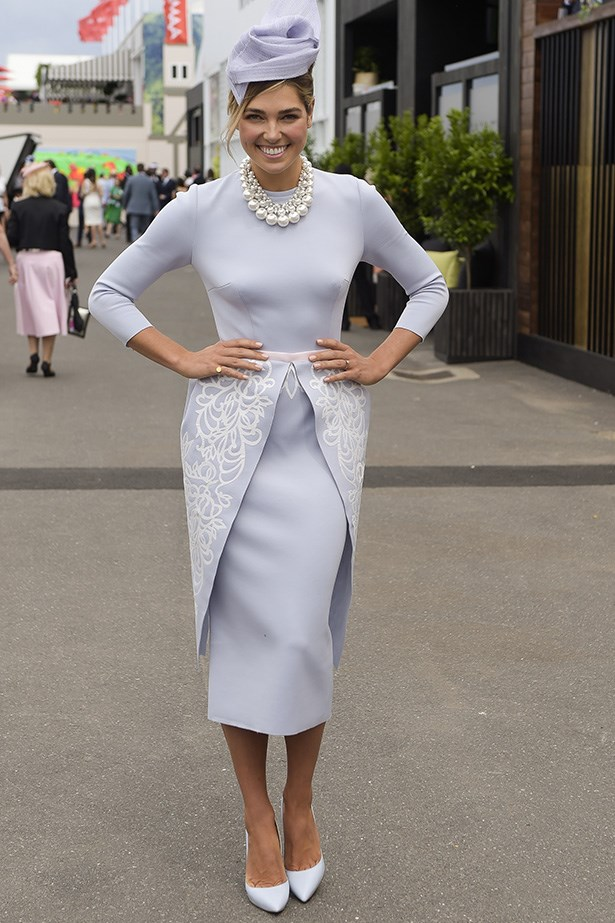 Who: Ashley Hart <br> Location: Melbourne <br> Event: Melbourne Cup 2014 <br>
