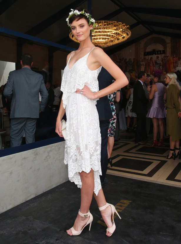 Who: Montana Cox <br> Location: Melbourne <br> Event: Melbourne Cup 2014 <br>