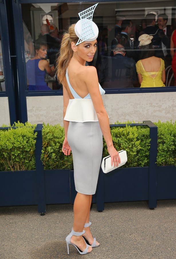Who: Nadia Bartel <br> Location: Melbourne <br> Event: Melbourne Cup 2014 <br>