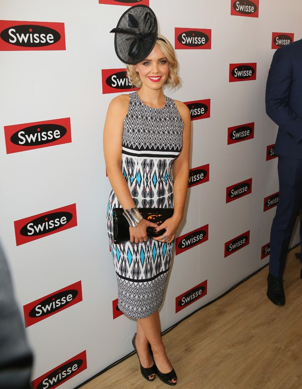 Who: Louise Pillidge <br> Location: Melbourne <br> Event: Melbourne Cup 2014 <br>