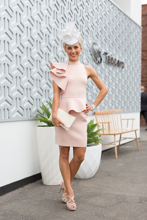 Name: Bridget Hall<br> Event: Melbourne Cup 2014 <br> Location: Melbourne <br> Image: Liz Mcleish of Streetsmith.com.au