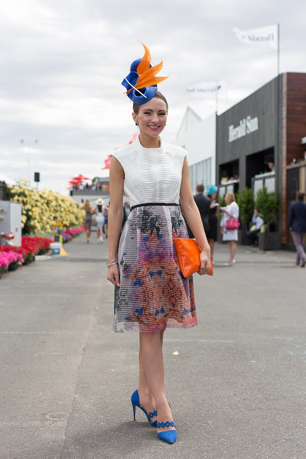 Name: Georgia Gardiner<br> Event: Melbourne Cup 2014 <br> Location: Melbourne