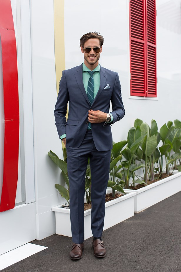 Name: Jordan Stenmark<br> Event: Melbourne Cup 2014 <br> Location: Melbourne