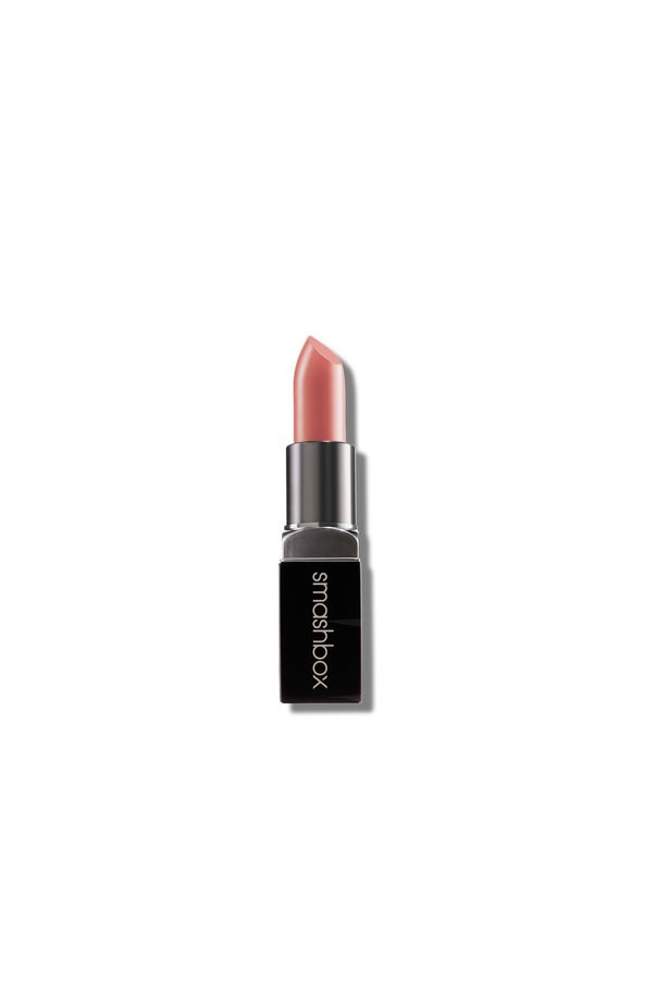 """Smashbox's Nylon Nude is a cult favourite for good reason. Not too pink. Not too brown. Not to orange. <br><br> Be Legendary Lipstick in Nylon Nude, $26, by Smashbox at Mecca Cosmetica, <a href=""""http://mecca.com.au/makeup/lips/lipstick/"""">mecca.com.au </a>"""