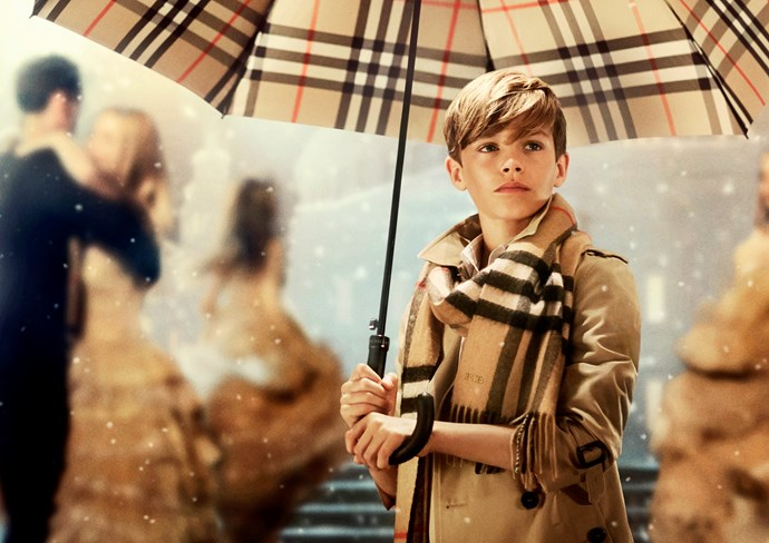 Romeo Beckham stars in Burberry's first global festive campaign