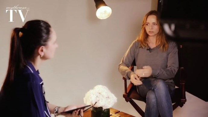 Paula Reed and Stella McCartney in New York