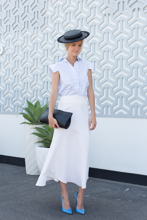 Name: Nadia-Fairfax<br> Event: Crown Oaks Day 2014 <br> Location: Melbourne <br> Image: Liz Mcleish of Streetsmith.com.au