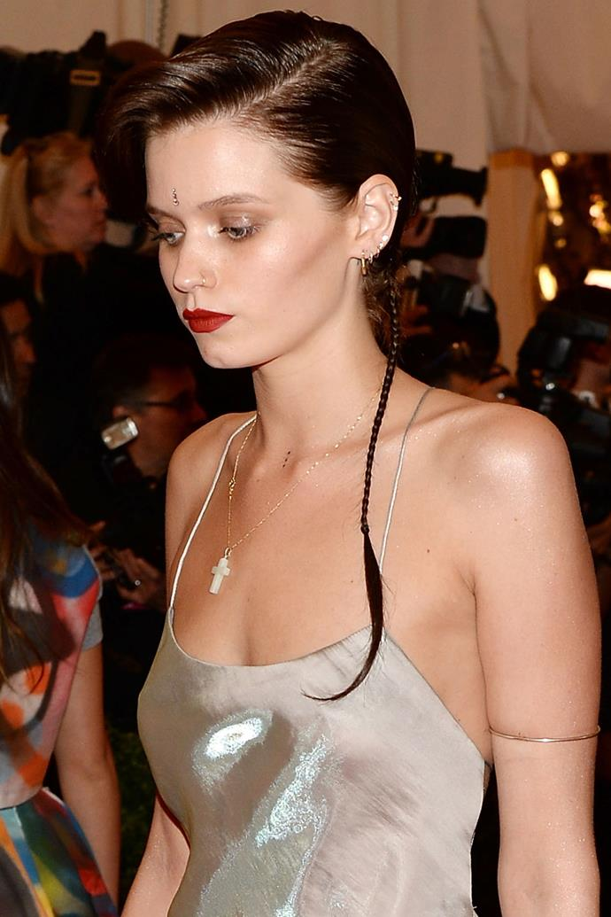 Abbey Lee Kershaw at the 2013 Met Gala