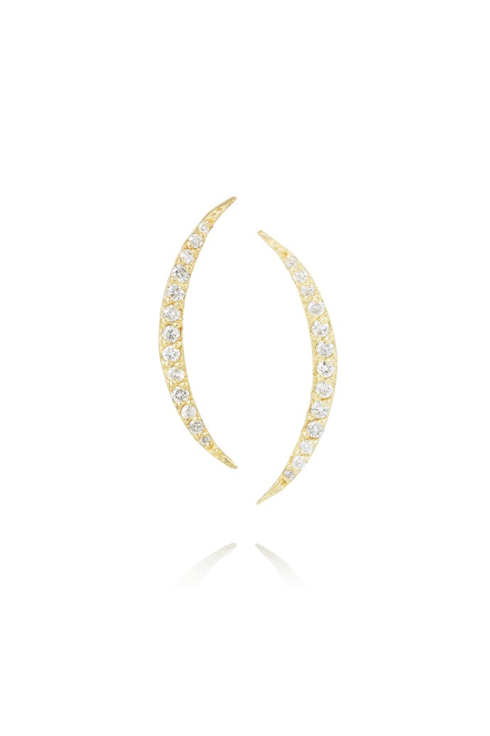 "Earrings, $2,485, Scosha, <a href=""http://www.net-a-porter.com"">net-a-porter.com</a>"