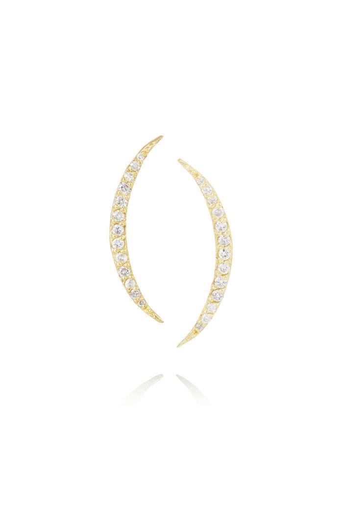 "Earrings, $2,485, Scosha, <a href=""http://www.net-a-porter.com"">net-a-porter.com</a>"