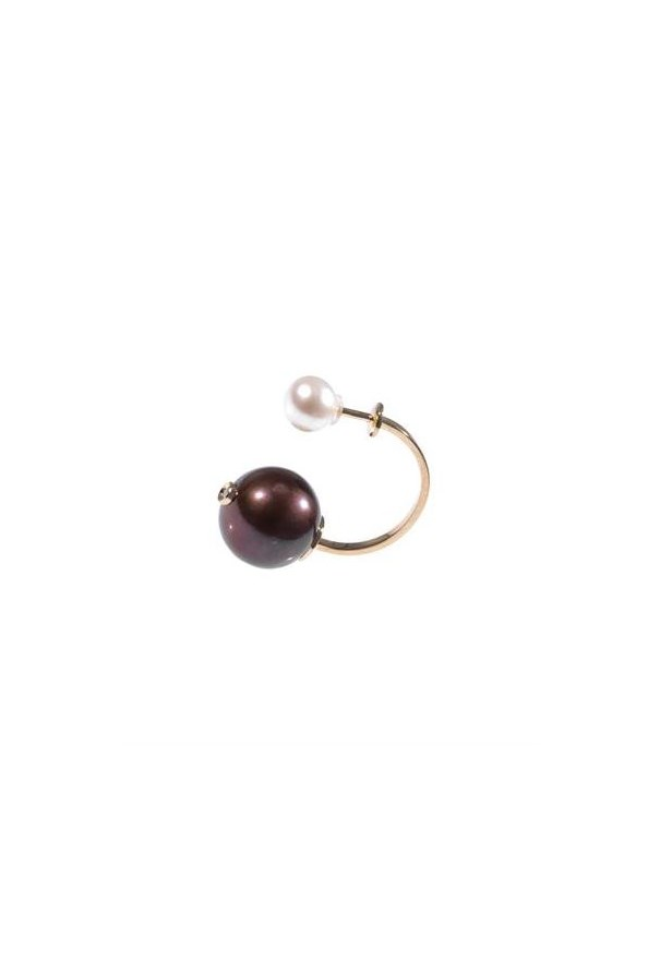 "Earring, $836, Delfina Delettrez, <a href=""http://www.matchesfashion.com"">matchesfashion.com</a>"