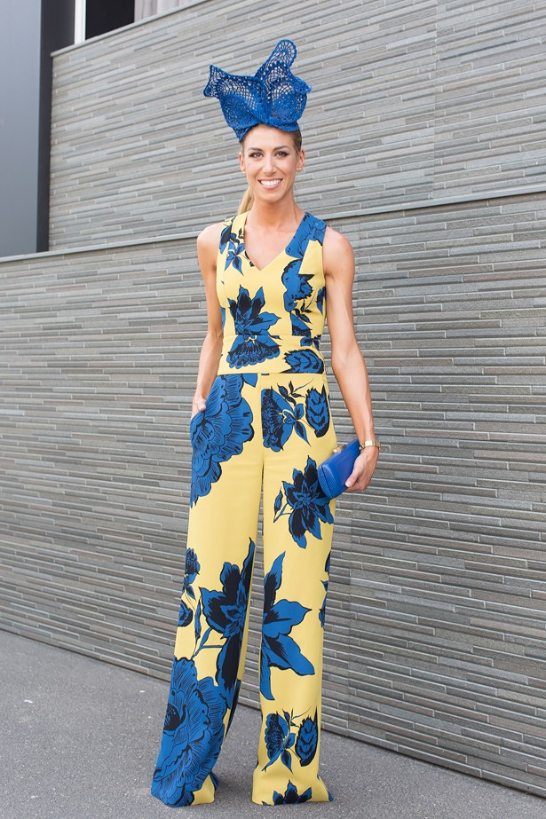 Name: Carla Rodan<br> Event: Emirates Stakes Day 2014 <br> Location: Melbourne <br> Image: Liz Mcleish of Streetsmith.com.au