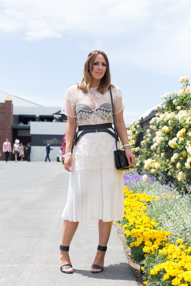 Name: Erin Maxwell<br> Event: Emirates Stakes Day 2014 <br> Location: Melbourne <br> Image: Liz Mcleish of Streetsmith.com.au
