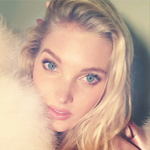 """<strong>Elsa Hosk</strong> <br><br> Thank you @colleencreighton for my beautiful hair and makeup today can't wait to walk down the #VSfashionshow as [insert angel emoticon] this year! All I can say is.. Its looking more magical than ever... #honored to be part of the best show on earth <br><br> @hoskelsa via <a href=""""http://instagram.com/p/u9lliZmITz/?modal=true"""">Instagram</a>"""