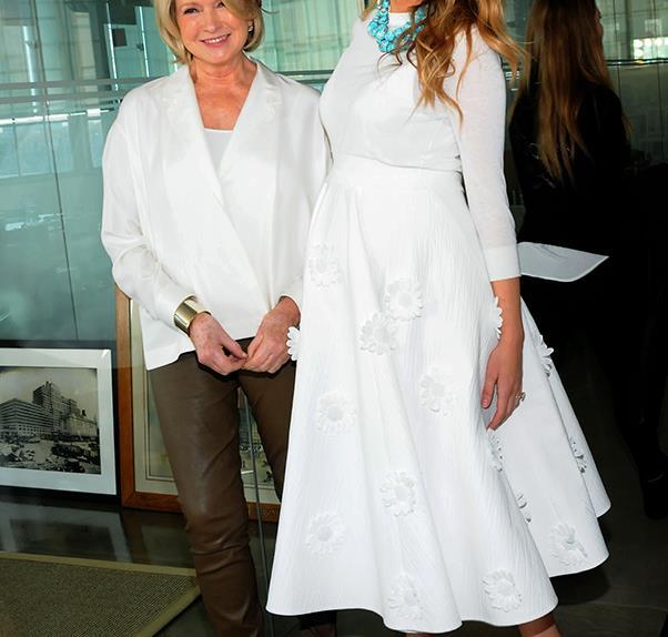 Blake Lively Martha Stewart