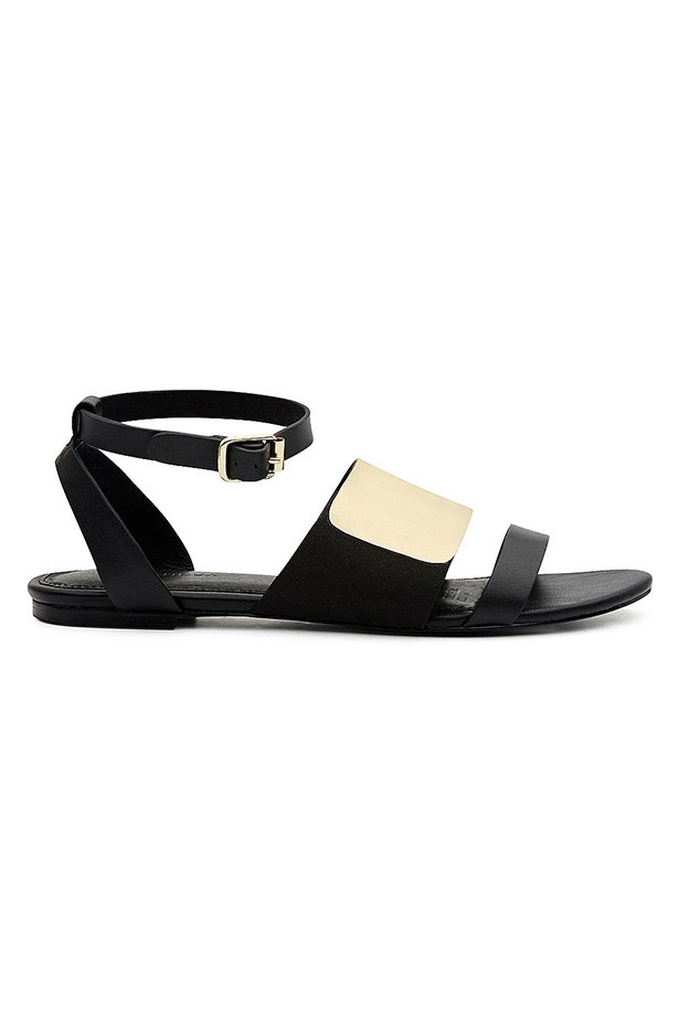 "Sandals, $129.95, Witchery, <a href=""http://www.witchery.com.au/shop/new-in/woman/shoes/60174279/Eloise-Sandal.html"">witchery.com.au</a>"