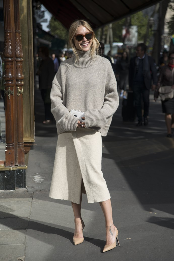 <strong>Name:</strong> Pernille Teisbaek <br/> <strong>Occupation:</strong> Swedish blogger at Look de Pernille. <br/> <strong>Instagram followers:</strong> 149,079 <br/> <strong>Her style and inspirational tricks:</strong> Scandinavian chic. This street style star is one of our biggest inspirations when it comes to making the high look low and the low look high. Think Acne back with H&M.