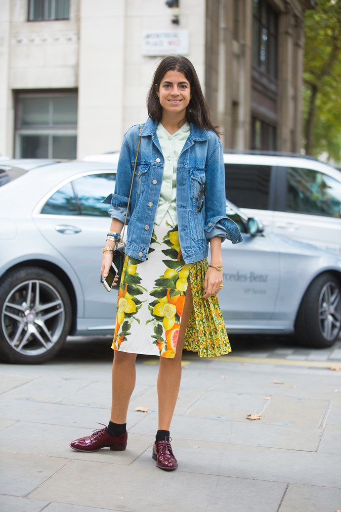 <strong>Name: </strong>Leandra Medine <br/> <strong>Occupation:</strong> Man Repeller <br/> <strong>Instagram followers:</strong> 752, 839 <br/> <strong>Her style and inspirational tricks:</strong> Her style is offbeat, she takes fashion cues from Alexa Chung, model Constance Jablonski and '70s icon Lauren Hutton, and she has Australian designers Ellery, Zimmermann, Sass & Bide and Dion Lee on high rotation – but somehow Leandra Medine is still the ultimate Man Repeller.