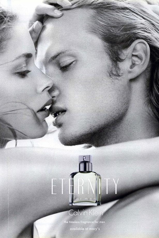 In 2008 Dutch model Doutzen Kroes made her debut in the <em>Eternity For Men</em> campaign.