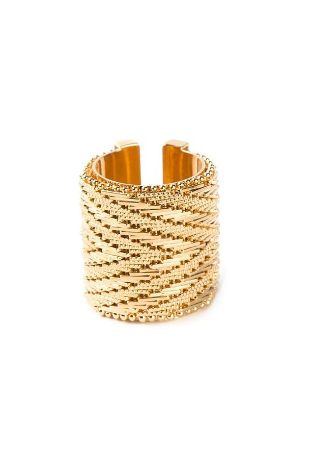 """Ring, $383, Givenchy, <a href=""""http://www.farfetch.com/au/shopping/women/givenchy-ring-item-10799071.aspx?storeid=9462&ffref=lp_16_ """">farfetch.com</a>"""