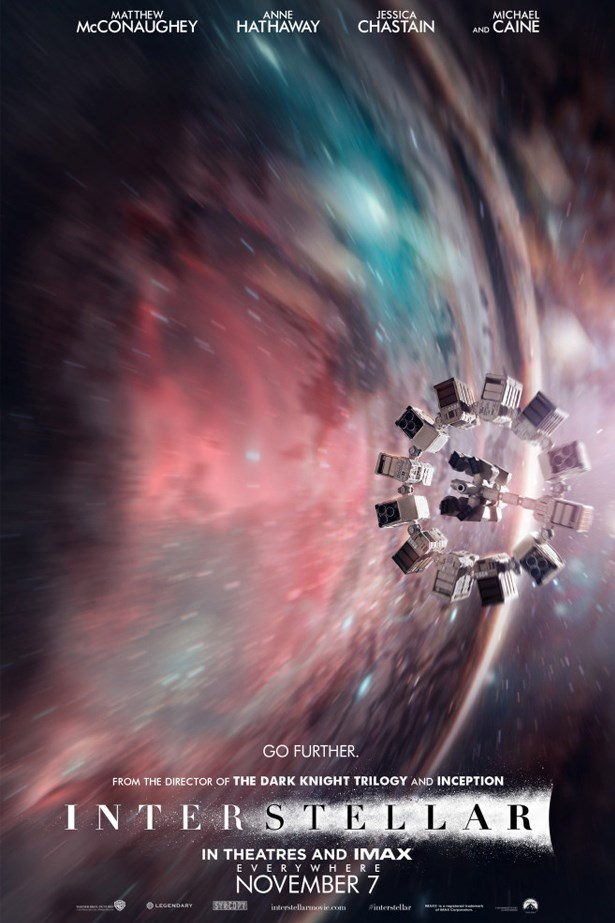 Interstellar: Easily one of the best films released this year.