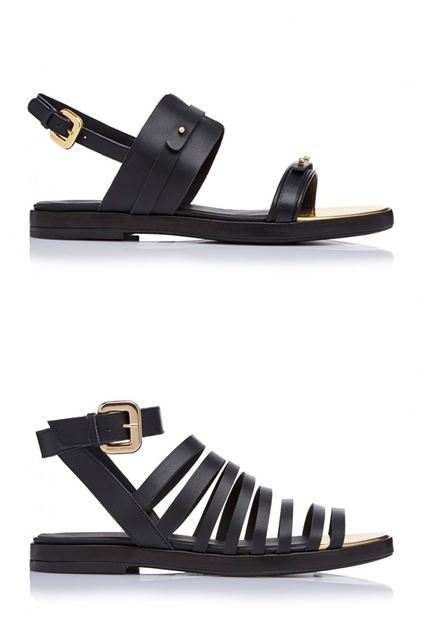 "Camilla And Marc's new <a href=""http://www.camillaandmarc.com/"">footwear</a> range: Meet the perfect black sandal."