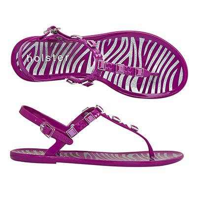 """<p/><p/><strong>Glitter Glam Rock - Grape</strong> <p/><p/>Combining a little bit of glam with a little bit of rock, this edgy jewelled style is completed with a glitter infused zebra insole print making it your go-to-shoe this season. <p/><p/> <a href=""""http://www.holsterfashion.com/hst132-glitter-glam-rock-grape-p-12924.html"""">Shop this style at holster fashion.</a>"""