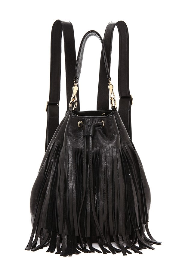 "Backpack, $534, B-Low The Belt, <a href=""http://www.shopbop.com/weekender-fringe-backpack-b-low/vp/v=1/1528115483.htm?fm=search-viewall-shopbysize"">shopbop.com</a>"