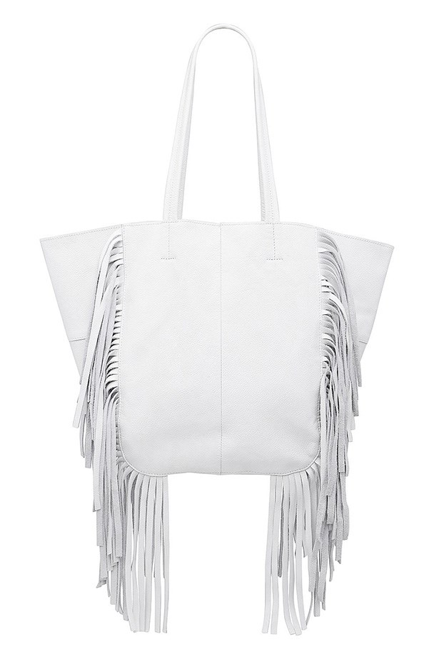 "Bag, $349.95, Witchery, <a href=""http://www.witchery.com.au/shop/woman/accessories/new-in/lana-fringe-bag-60176209"">witchery.com.au</a>"