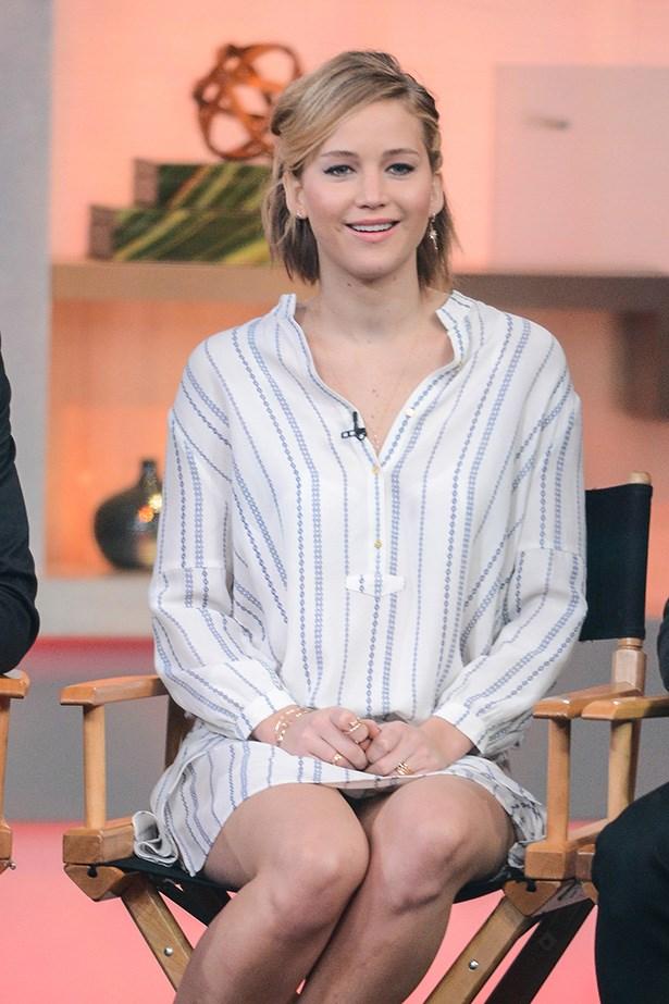 In an Ulla Johnson shirtdress