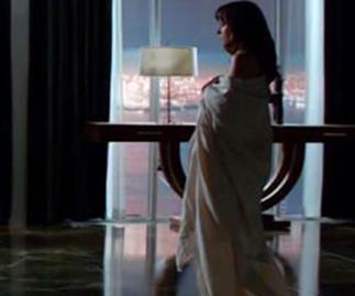 Dakota Johnson in 50 Shades of Grey