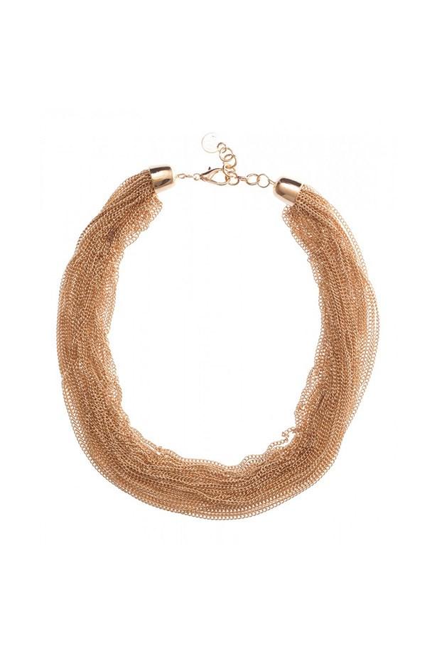 """Necklace, $14.95, Colette by Colette Hayman, <a href=""""http://www.colettehayman.com.au/shop/fine-multi-row-necklace--id21620.html"""">colettehayman.com.au</a>"""