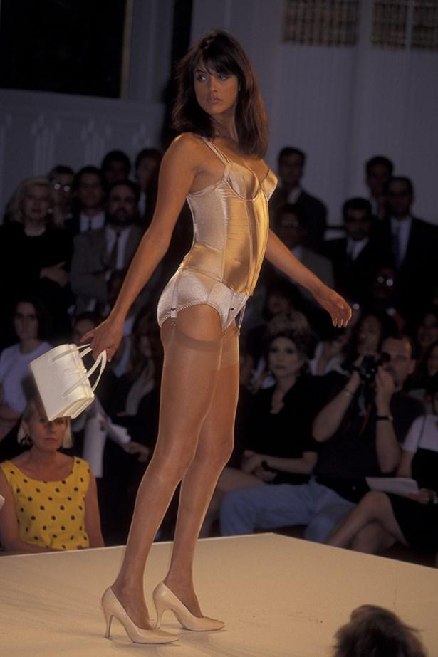 Helena Christensen in the 1995 Victoria's Secret show