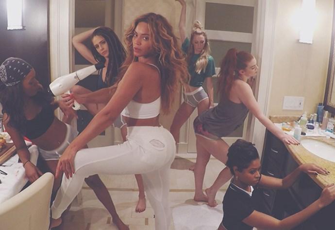 Beyonce 7 11 film clip