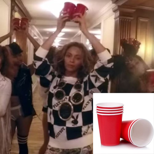 """<strong>RED PLASTIC CUPS</strong> <br><br> Not just for frat parties, but for yours too. <br><br> <em>Red cups, 25 for $10, <a href=""""http://www.reddscups.com.au/"""">reddscups.com.au</a></em>"""