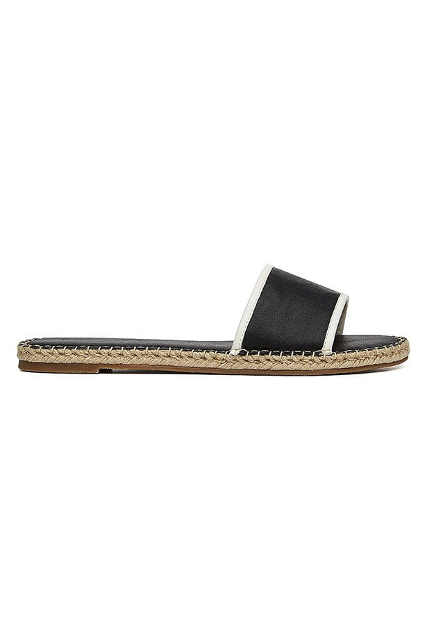 "Slides, $69.95, Witchery, <a href=""http://www.witchery.com.au/shop/new-in/woman/60177411/Imogen-Slide.html"">witchery.com.au</a>"