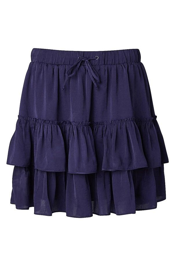 """Skirt, $89.95, Witchery, <a href=""""http://www.witchery.com.au/shop/new-in/woman/60175055/Tiered-Mini-Skirt.html"""">witchery.com.au</a>"""