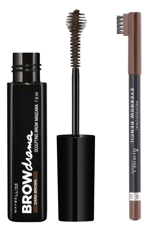 <p><strong>Brows: </strong>If you aren't blessed with natural full brows like Emma, fill in gaps and enhance the colour with a brow pencil and tinted gel. </p> <p><em>Brow Drama Sculpting Brow Mascara, $12.95, Maybelline New York, 1300 369 327</em> </p> <p><em>Professional Brow Pencil, $8.50, Rimmel London, 1800 812 663</em> </p>