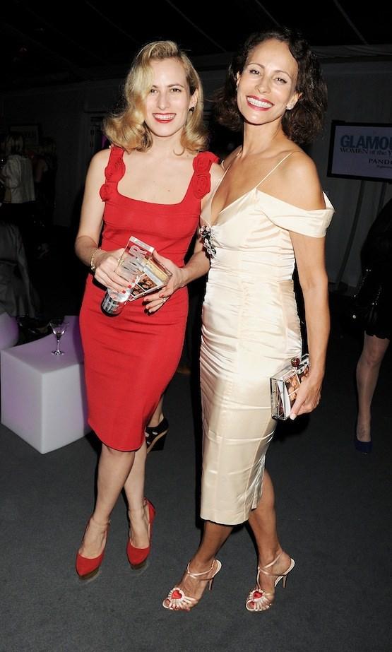 Charlotte Dellal and Andrea Dellal