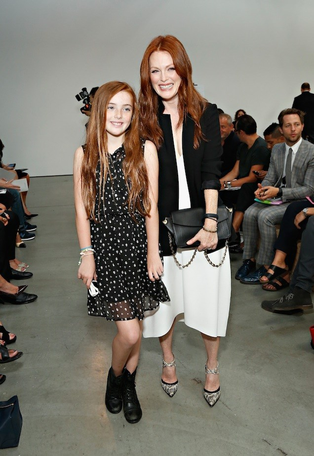 Liv Helen Freundlich and Julianne Moore