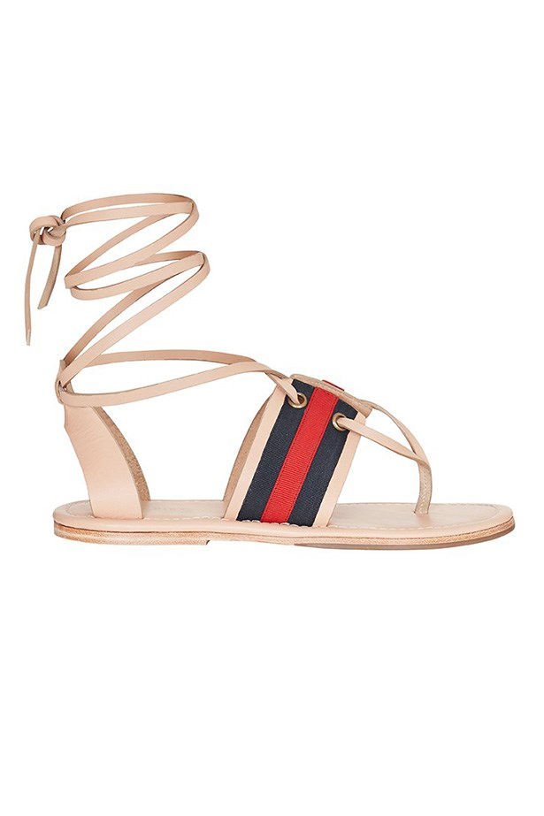 "Sandals, $350, sass and bide, <a href=""http://www.sassandbide.com/eboutique/accoutrement/the-lane"">sassandbide.com</a>"