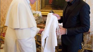 Pope goes street style