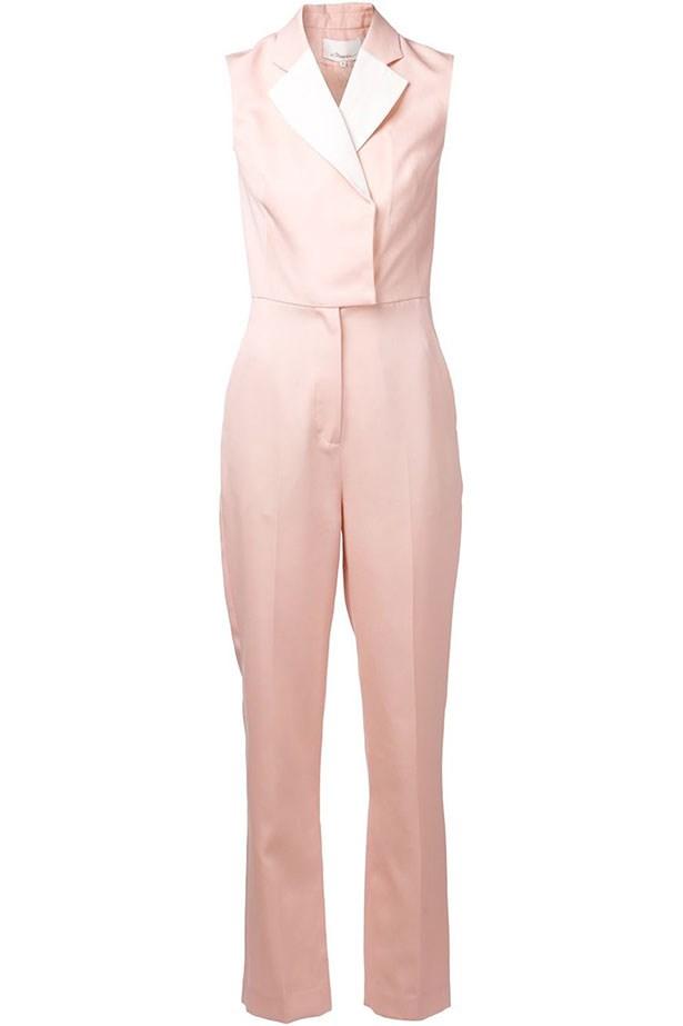 """Jumpsuit, $1,105, 3.1 Phillip Lim, <a href=""""http://www.farfetch.com/au/shopping/women/31-phillip-lim-tuxedo-jumpsuit-item-10864533.aspx?storeid=9630&ffref=lp_17_"""">farfetch.com</a>"""