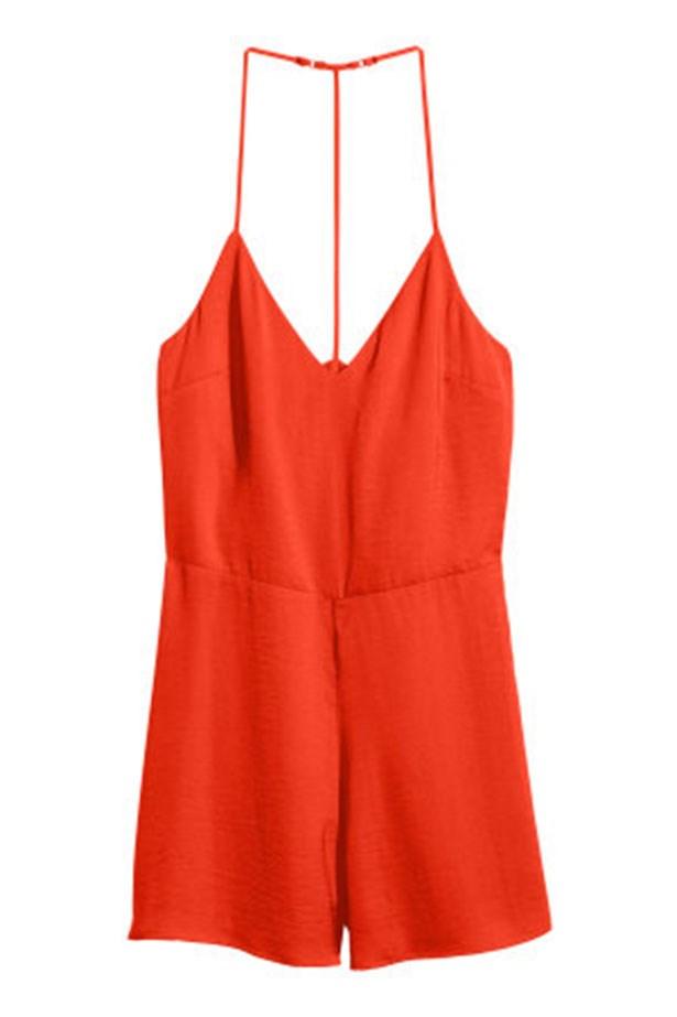 """Jumpsuit, $29.95, H&M, <a href=""""http://www.hm.com/au/product/32278?article=32278-A"""">hm.com</a>"""